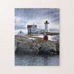 """El faro York, Maine de Neddick del cabo de la """"pro Puzzle"""