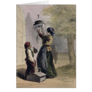 El farolero, de 'Les Femmes de París Felicitaciones