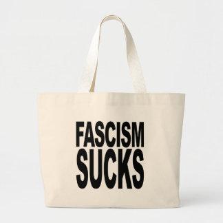 El fascismo chupa bolsas