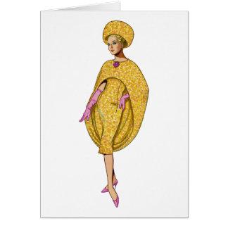 El fashionista de la diva sea usted tarjeta