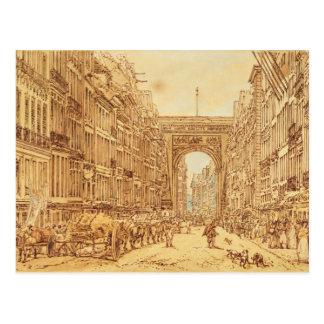 El Faubourg y el Porte Santo-Denis, 1801 Postal