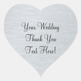 El favor de la bodas de plata le agradece pegatina