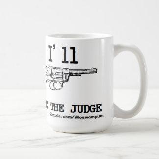 EL FAVORABLE EMBALAJE de la PISTOLA del ARMA del J Tazas De Café