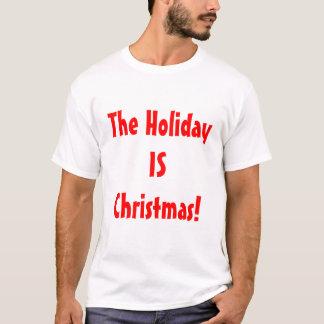 ¡El FAVORABLE navidad/el día de fiesta ES navidad! Playera