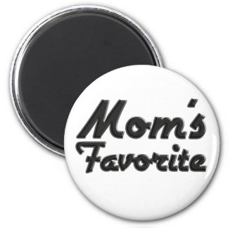 El favorito de la mamá imán de frigorifico
