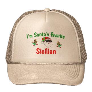 El favorito de Santa siciliano Gorro De Camionero