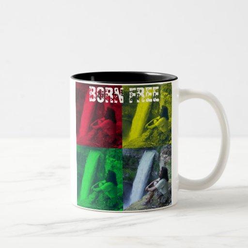 El FB, OPL Rasta colorea la taza