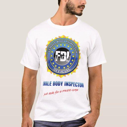 El FBI pide gratis a tanteo la insignia grande Playera