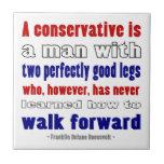 El FDR define a los conservadores más oscuros Azulejo