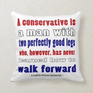 El FDR define a los conservadores más oscuros Almohadas