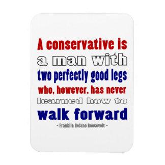 El FDR define a los conservadores más oscuros Imanes Flexibles