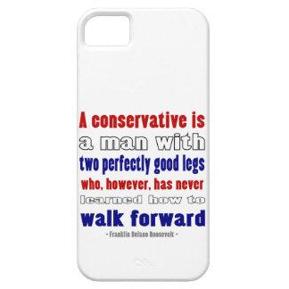 El FDR define a los conservadores oscuros iPhone 5 Funda