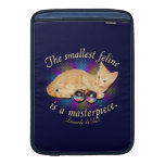 El felino más pequeño funda para macbook air