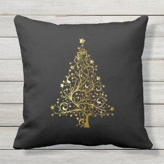 El feliz árbol de navidad protagoniza moda cojín