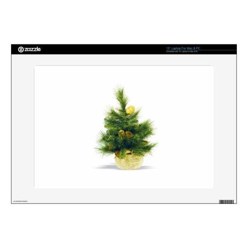 El feliz árbol del día de fiesta del navidad adorn portátil calcomanías