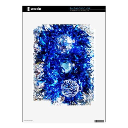El feliz árbol del día de fiesta del navidad adorn skin para el iPad 2