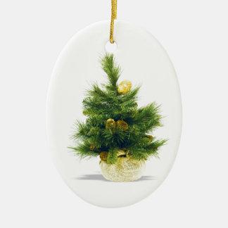 El feliz árbol del día de fiesta del navidad adorno