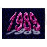 El feliz cumpleaños 1989 años de años 80 del nacim tarjetas