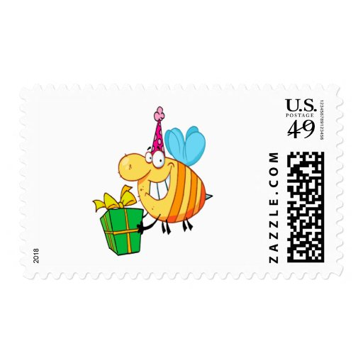 el feliz cumpleaños divertido manosea el personaje sellos