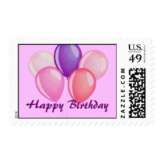 El feliz cumpleaños hincha franqueo