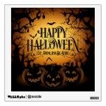 El feliz Halloween come la bebida y sea etiqueta Vinilo Decorativo