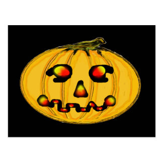 El feliz Halloween de la serie del artista del Tarjeta Postal