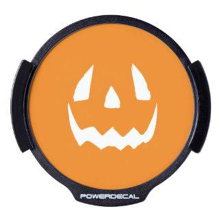 El feliz Halloween Jack O'Lantern hace frente Decal LED Para Ventana