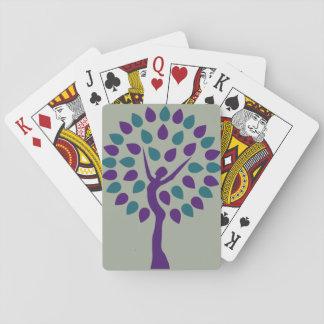 El feminismo está en las tarjetas cartas de juego