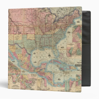 """El ferrocarril de Colton y mapa de los militares Carpeta 1 1/2"""""""