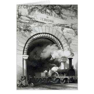 El ferrocarril de Great Western, 1846 Tarjeta De Felicitación