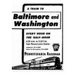 El ferrocarril de Pennsylvania entrena cada hora a Postales