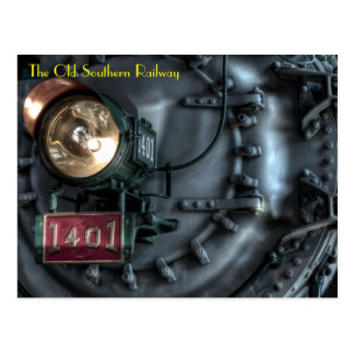 El ferrocarril meridional viejo postales