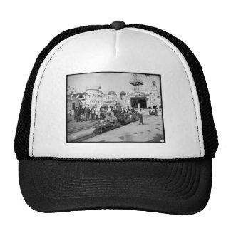El ferrocarril miniatura, Coney Island, N.Y. c1905 Gorra