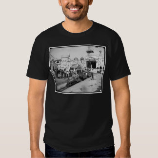 El ferrocarril miniatura, Coney Island, N.Y. c1905 Playeras