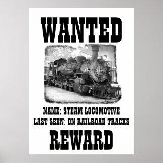 El ferrocarril quiso el poster