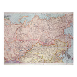 El ferrocarril siberiano postal