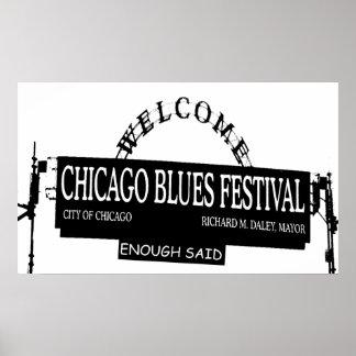 El Fest de los azules de Chicago bastante dijo Impresiones