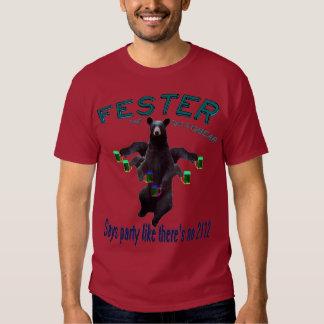 ¡El Fester va todo verdoso para Halloweeny! Camisas