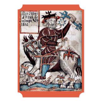 El festival de la invitación de Woden a un pagano Invitación 12,7 X 17,8 Cm