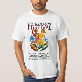 El festival de los niños remeras