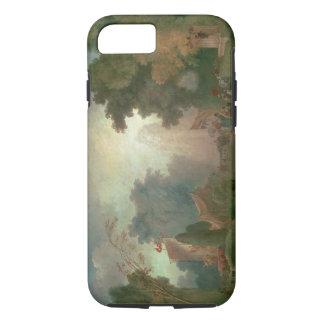 El Fete en la Santo-Nube (aceite en lona) (para el Funda iPhone 7