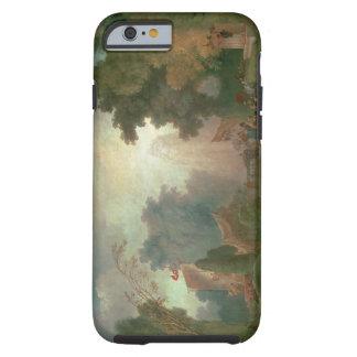 El Fete en la Santo-Nube (aceite en lona) (para el Funda Resistente iPhone 6