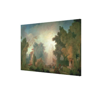 El Fete en la Santo-Nube (aceite en lona) (para el Impresiones En Lienzo Estiradas