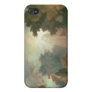 El Fete en la Santo-Nube (aceite en lona) (para el iPhone 4 Carcasa