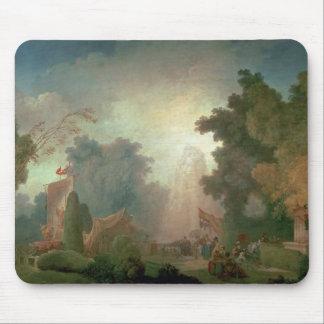 El Fete en la Santo-Nube (aceite en lona) (para el Tapetes De Raton
