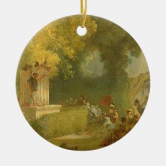 El Fete en la Santo-Nube detalle del espectáculo Adornos De Navidad