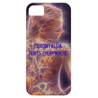 El Fibromyalgia daña por todas partes iPhone 5 Fundas