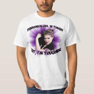 ¡El Fibromyalgia es duro pero, soy más duro! Camisas