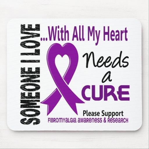 El Fibromyalgia necesita una curación 3 Tapete De Ratón