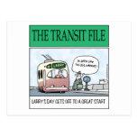 El fichero del tránsito tarjeta postal